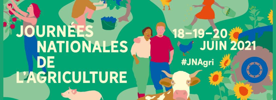 illustration La ferme du Moulon ouvre ses portes au public à l'occasion des Journées Nationales de l'Agriculture