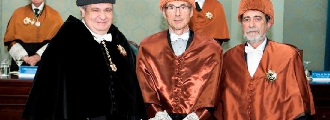 illustration Antoine Kremer investi Docteur honoris causa de l'Université polytechnique de Madrid