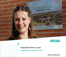 Femme de Science Charlotte Foret Lucas