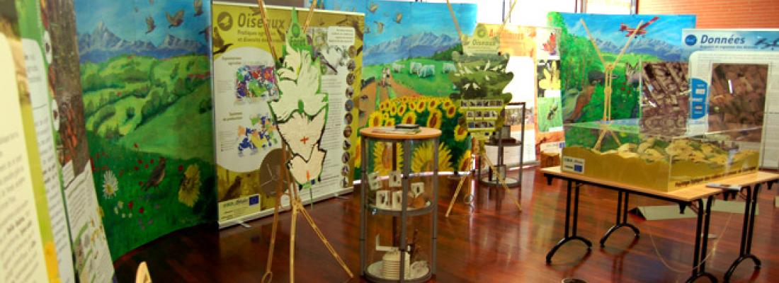 illustration Exposition « Des territoires et des hommes : biodiversité, agriculture, forêt dans les paysages ruraux »