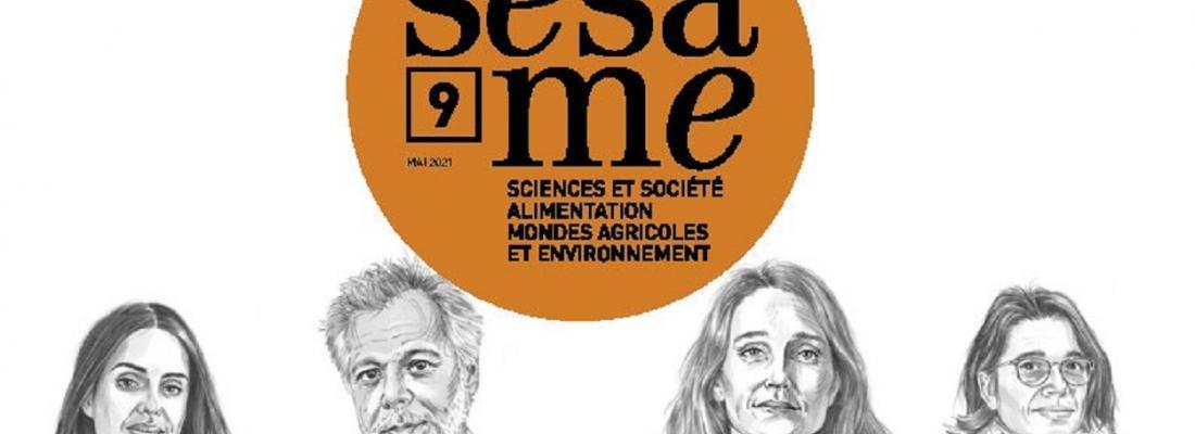 illustration Revue Sésame, nouveau numéro !