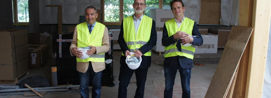 illustration Visite de chantier du futur Pôle R&D Agronomique et Agroalimentaire du Grand Arras