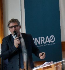 Olivier Lavialle,  Président du centre INRAE Nouvelle-Aquitaine Bordeaux