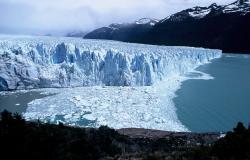 Glacier Marconi et lac Electrico