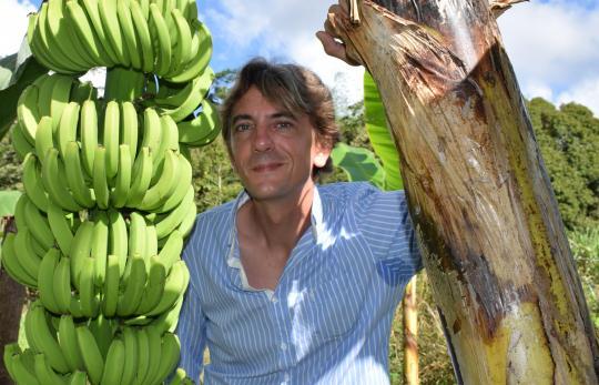 illustration Jean-Marc Blazy, nouveau directeur de l'unité Agrosystèmes tropicaux