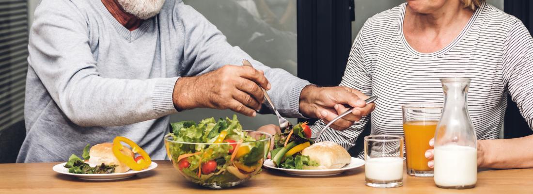 illustration 5 idées reçues sur l'alimentation des seniors