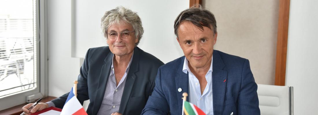 illustration Coopération internationale France/Afrique du Sud : signature d'un accord tripartite entre l'ARC, le Cirad et INRAE