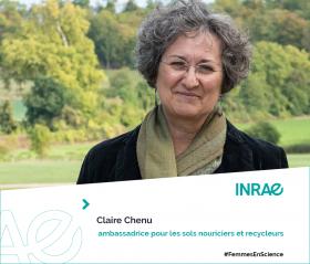 Femme de science Claire Chenu