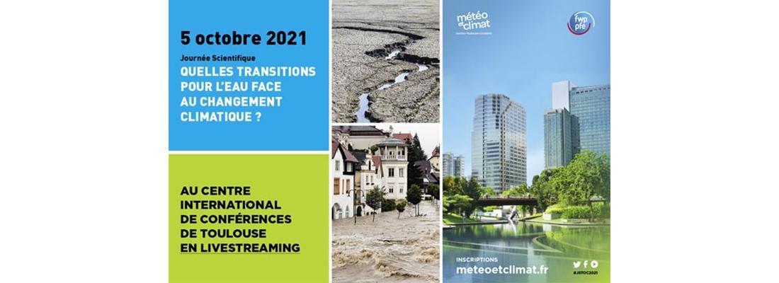 """illustration Journée scientifique """"Quelles transitions pour l'eau face au changement climatique ?"""""""
