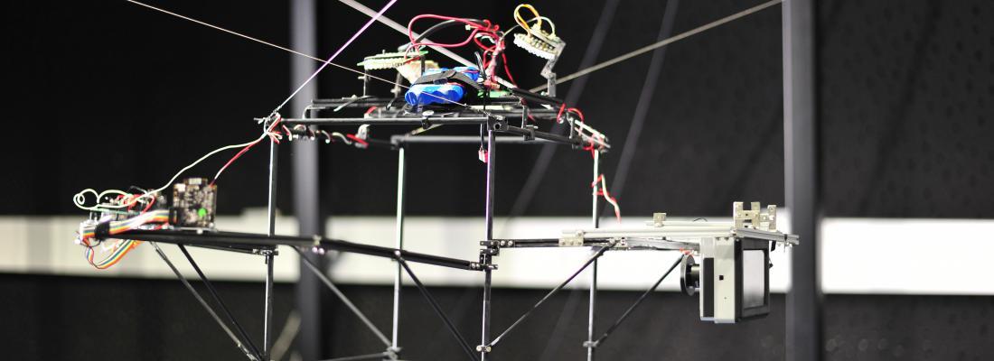 illustration Un robot pour suivre et filmer le vol des insectes