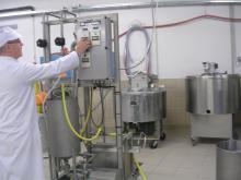 Minifromagerie expérimentale de l'URTAL (Poligny)