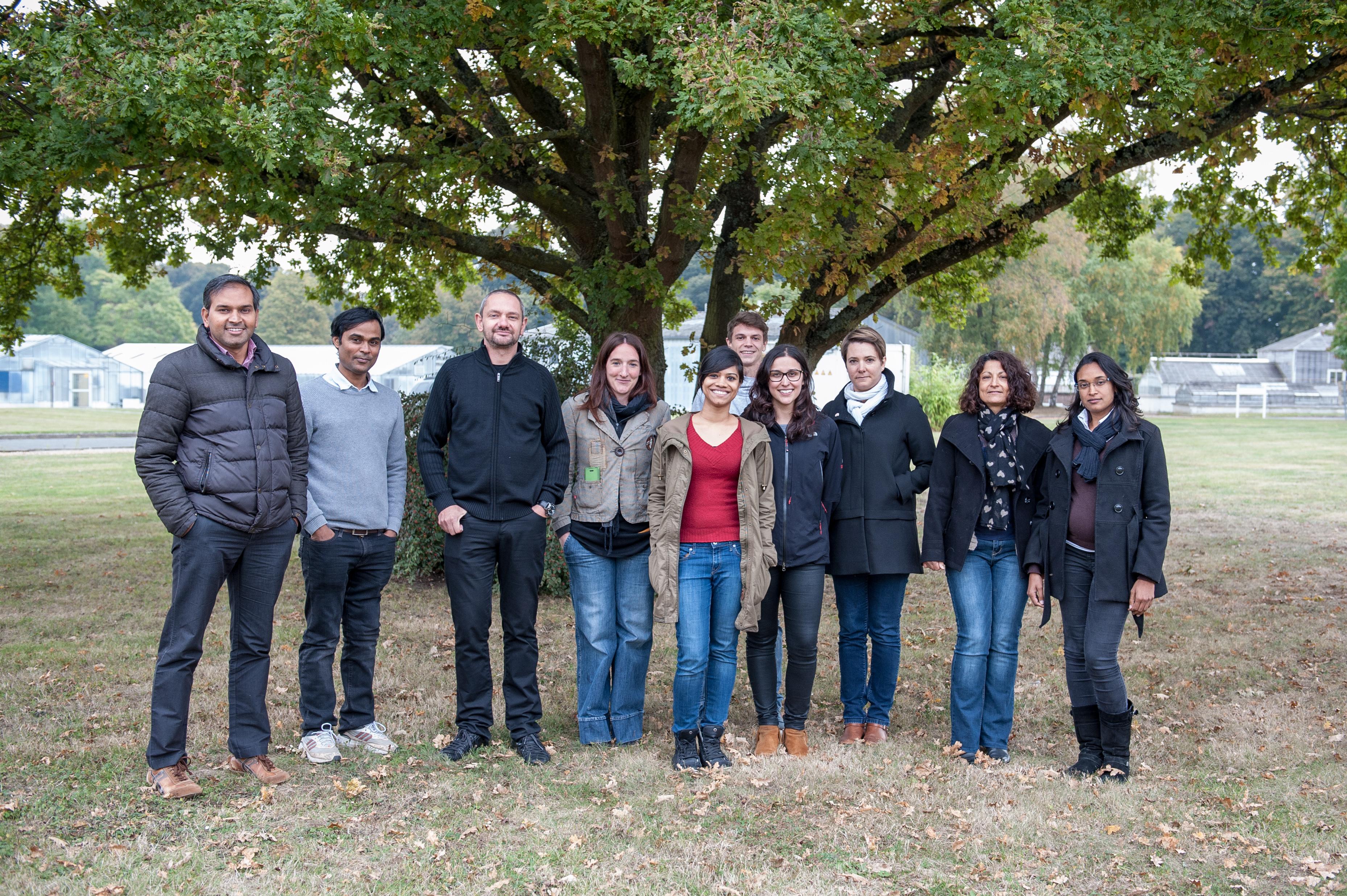 Photo de groupe de l'équipe de Raphaël MERCIER, laurier du défi scientifique 2016