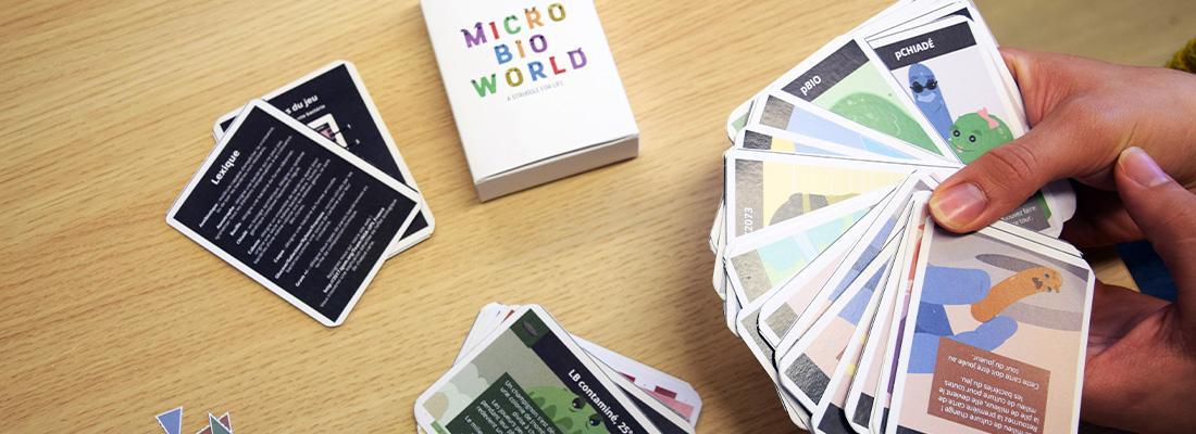 illustration Microbioworld, un « serious game » qui nous plonge au cœur de la microbiologie