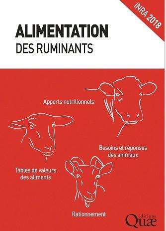 Alimentation des ruminants, Quae 2018