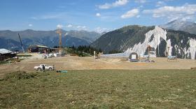 Revégétalisation de pistes de ski