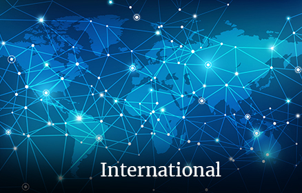 Accès page international