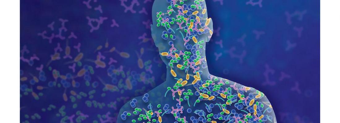 illustration Un nouveau projet européen pour coordonner les recherches sur le microbiome humain