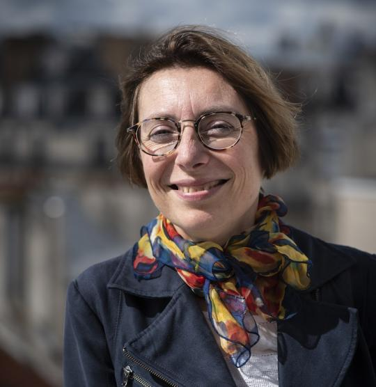 illustration Françoise Simon-Plas, a woman of science and values