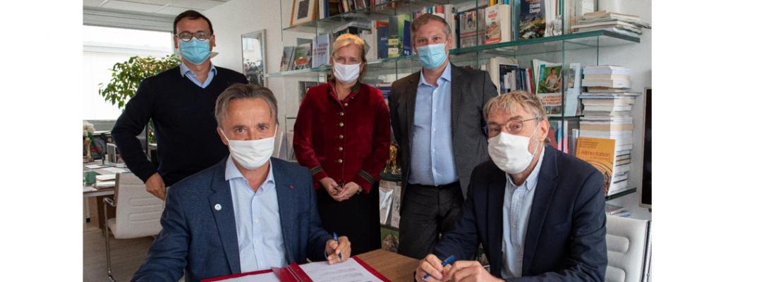 illustration Recherche, formation, innovation : INRAE et AgroParisTech signent un nouvel accord de partenariat