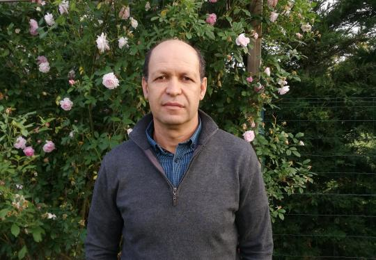 illustration  Mohammed Bendahmane, the scientist and the rose