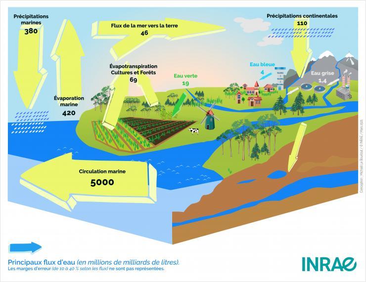 Cycle de l'eau INRAE