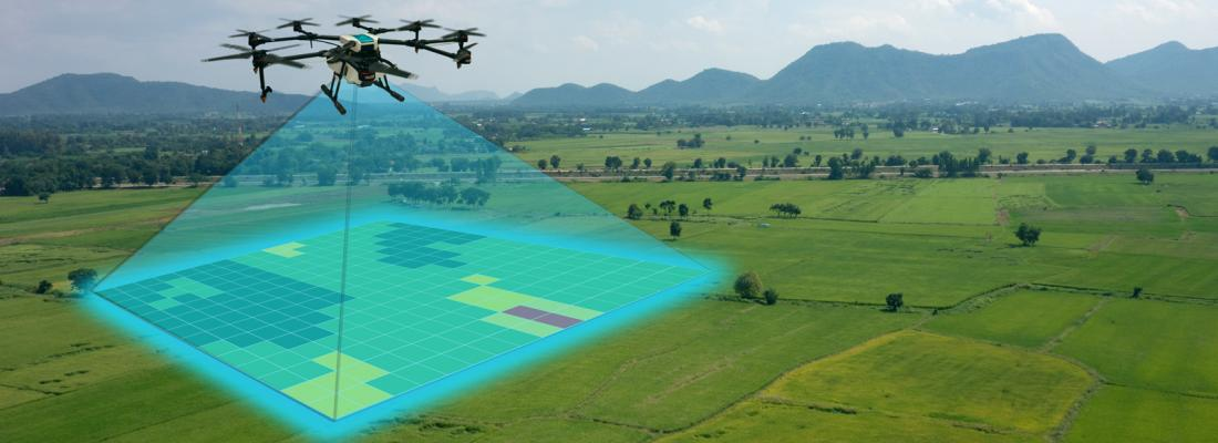 illustration Proxies and remote-sensing: the pillars of digital agriculture