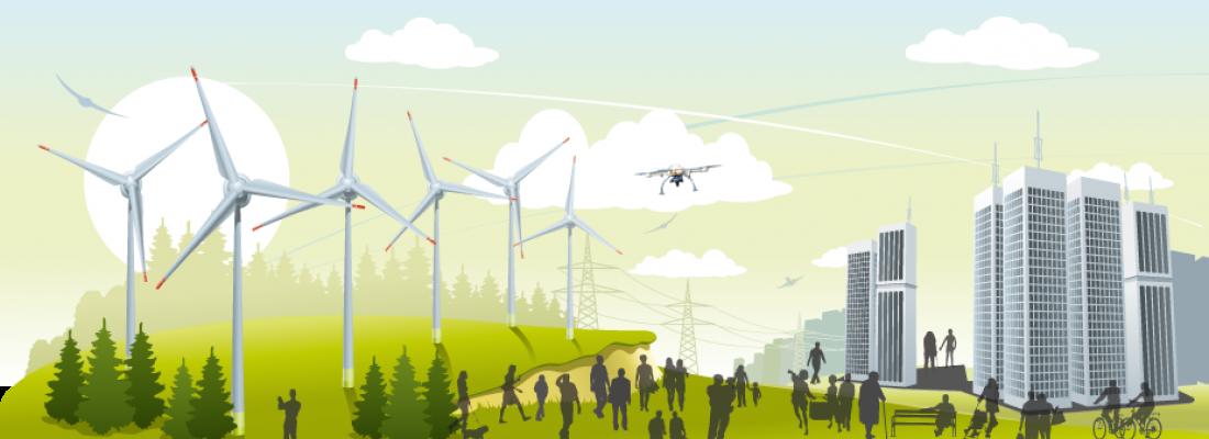 illustration  Transforming a scientific mission into societal impacts