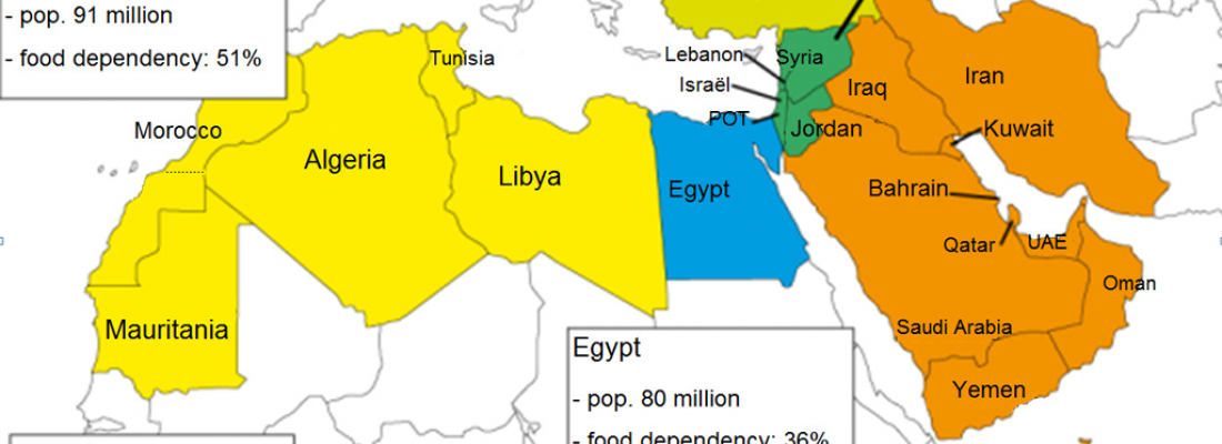 illustration  North Africa and the Middle East through to the year 2050: towards a greater dependence on agricultural imports