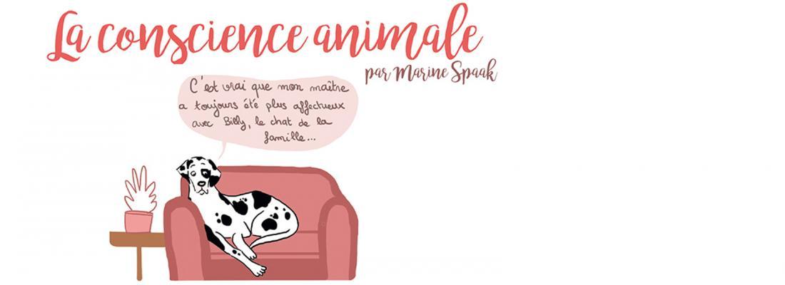 illustration La conscience animale en BD