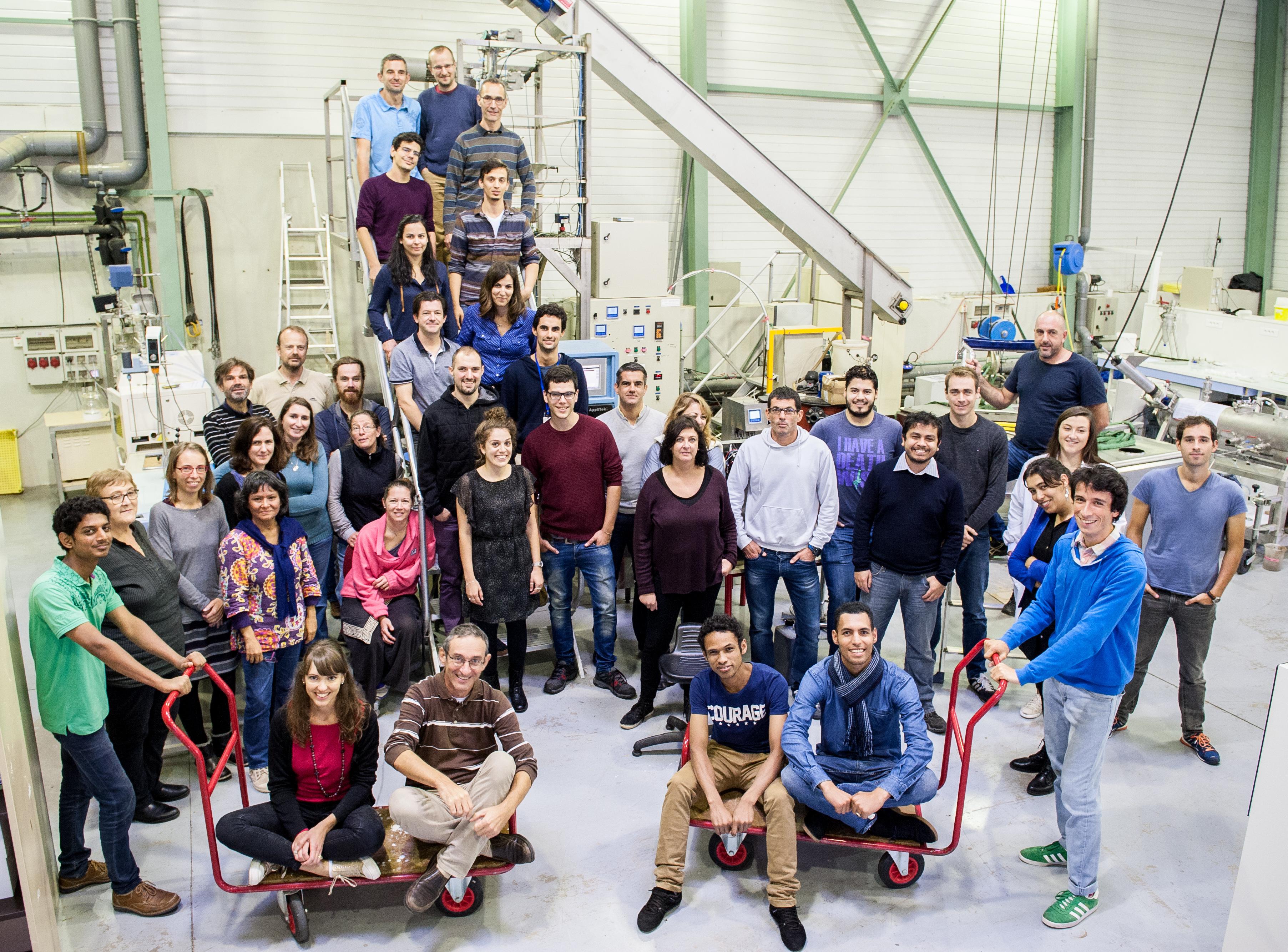 Laboratoire des Biotechnologies de l'Environnement : équipe