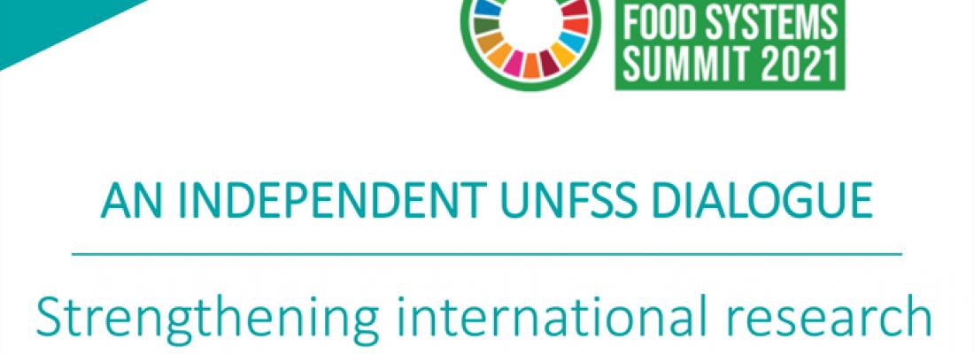 illustration Dialogue indépendant du Sommet des Nations Unies sur les systèmes alimentaires