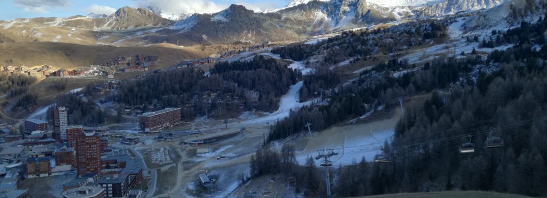 illustration Impact du changement climatique sur l'enneigement des stations de sports d'hiver