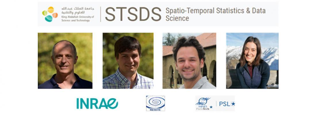 illustration Félicitations à l'équipe RESSTE qui remporte haut la main une compétition internationale en statistique spatiale !