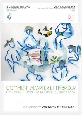 """Couverture de l'ouvrage numérique """" Comment adapter et hybrider les démarches participatives dans les territoires ? """""""