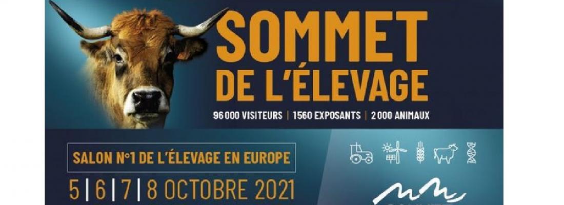 illustration INRAE au Sommet de l'élevage 2021