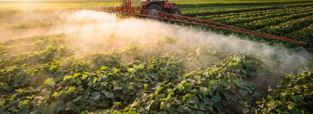 illustration Pesticides dans l'air, comment les mesurer ?