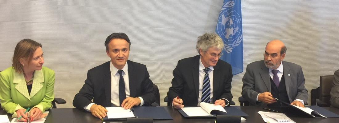illustration La FAO et quatre instituts de recherche français renforcent leur collaboration