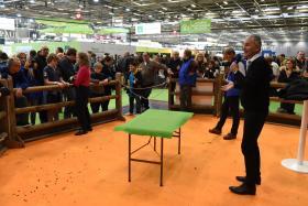 SIA 2020 Conférence à la ferme pédagogique avec Didier Concordet