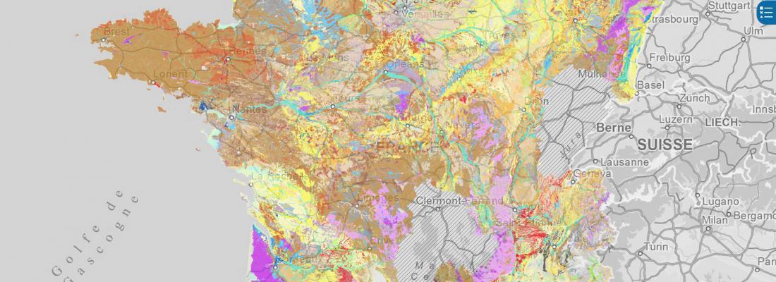 illustration Une nouvelle carte des sols de France accessible à tous