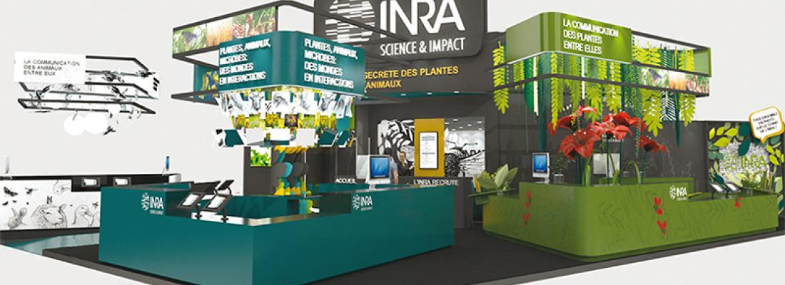 illustration  INRA at the 2019 Paris International Agricultural Show
