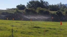 Irrigation par aspersion