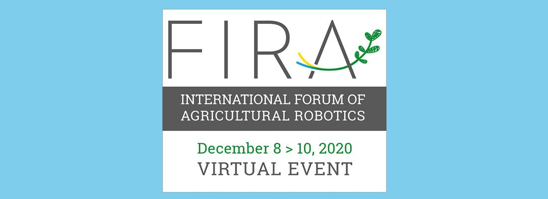 illustration FIRA 2020 :  le rdv des experts internationaux de la robotique agricole !