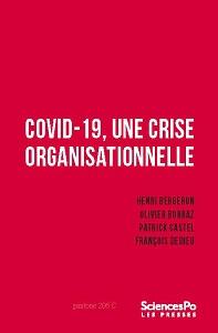 Lien vers la page de parution de l'ouvrage Covid 19, une crise organisationnelle
