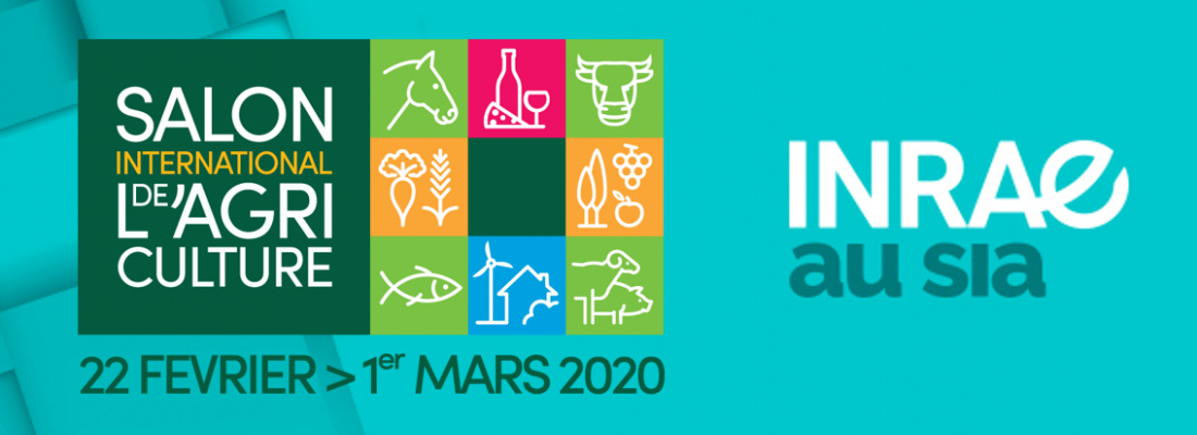 illustration 1er Salon International de l'Agriculture pour INRAE - Recherches et solutions pour accompagner les transformations de l'agriculture, de l'alimentation et de l'environnement