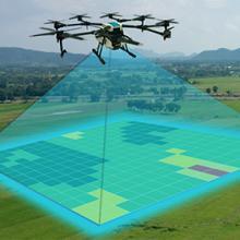 Teledetection par drone