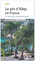 Ouvrage editions Quae Le pin d'Alep en France